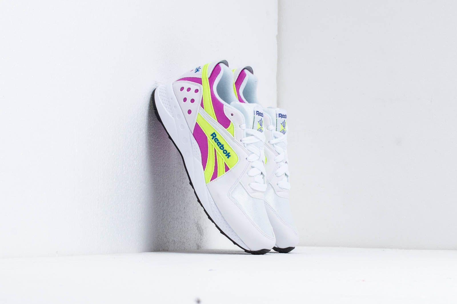 Reebok Pyro White/ Violet/ Neon/ Cobalt za skvělou cenu 2 340 Kč koupíte na Footshop.cz