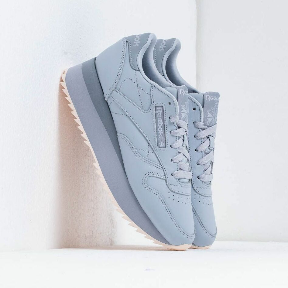 Reebok CL LTHR Double Cold Grey/ Cool Shadow EUR 37.5