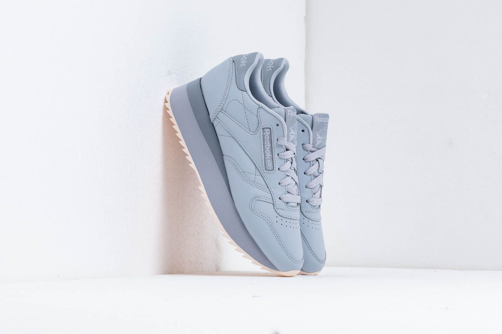 2c1d15450ea20 Reebok CL LTHR Double Cold Grey  Cool Shadow at a great price 106 € buy