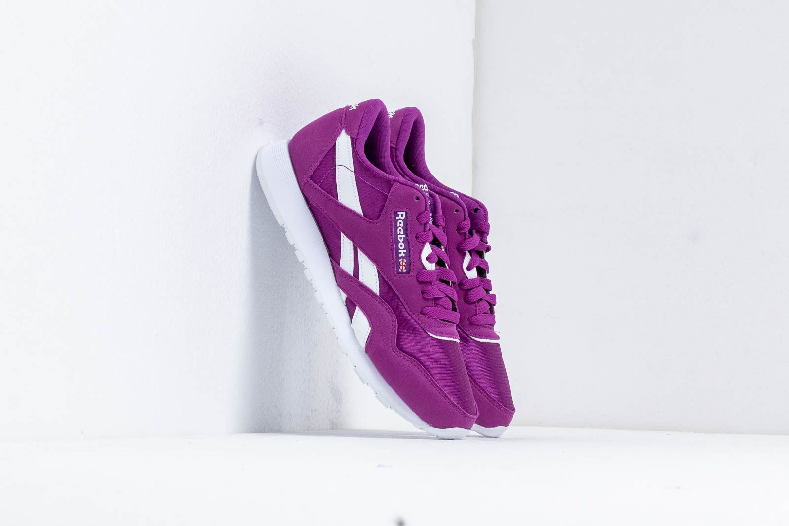 ae3c12556 Reebok Classic Nylon Color Aubergine  White at a great price 72 € buy at  Footshop