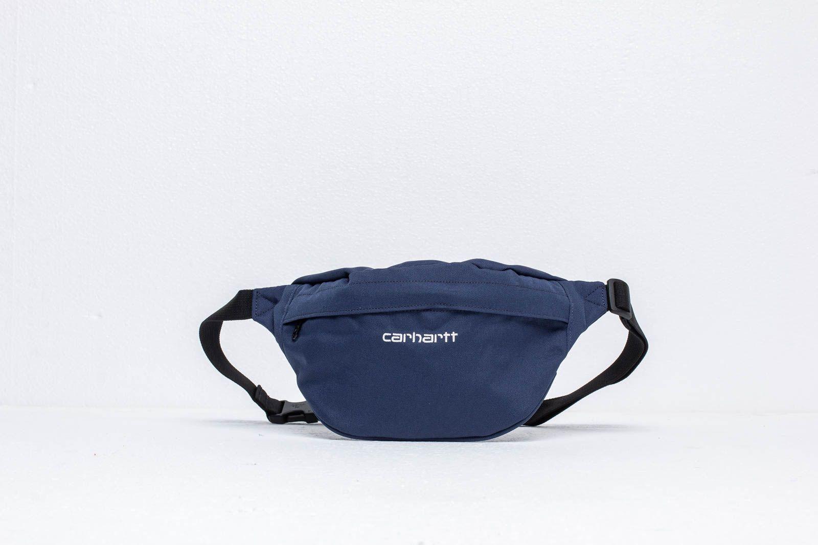 Carhartt WIP Payton Hip Bag Blue/ White za skvělou cenu 890 Kč koupíte na Footshop.cz