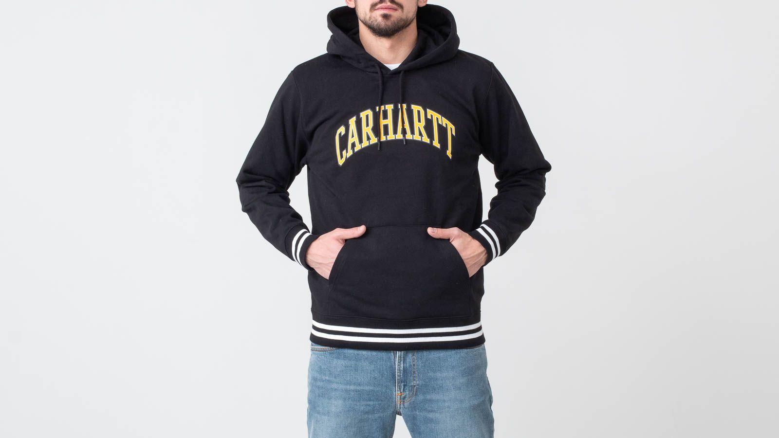 Mikiny a svetry Carhartt WIP Knowledge Hoodie Black