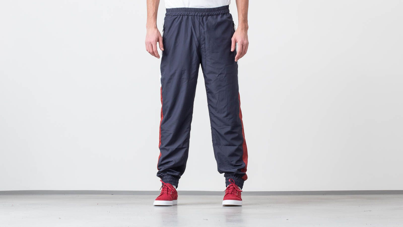 Pantalons WOOD WOOD Elliott Trousers Navy