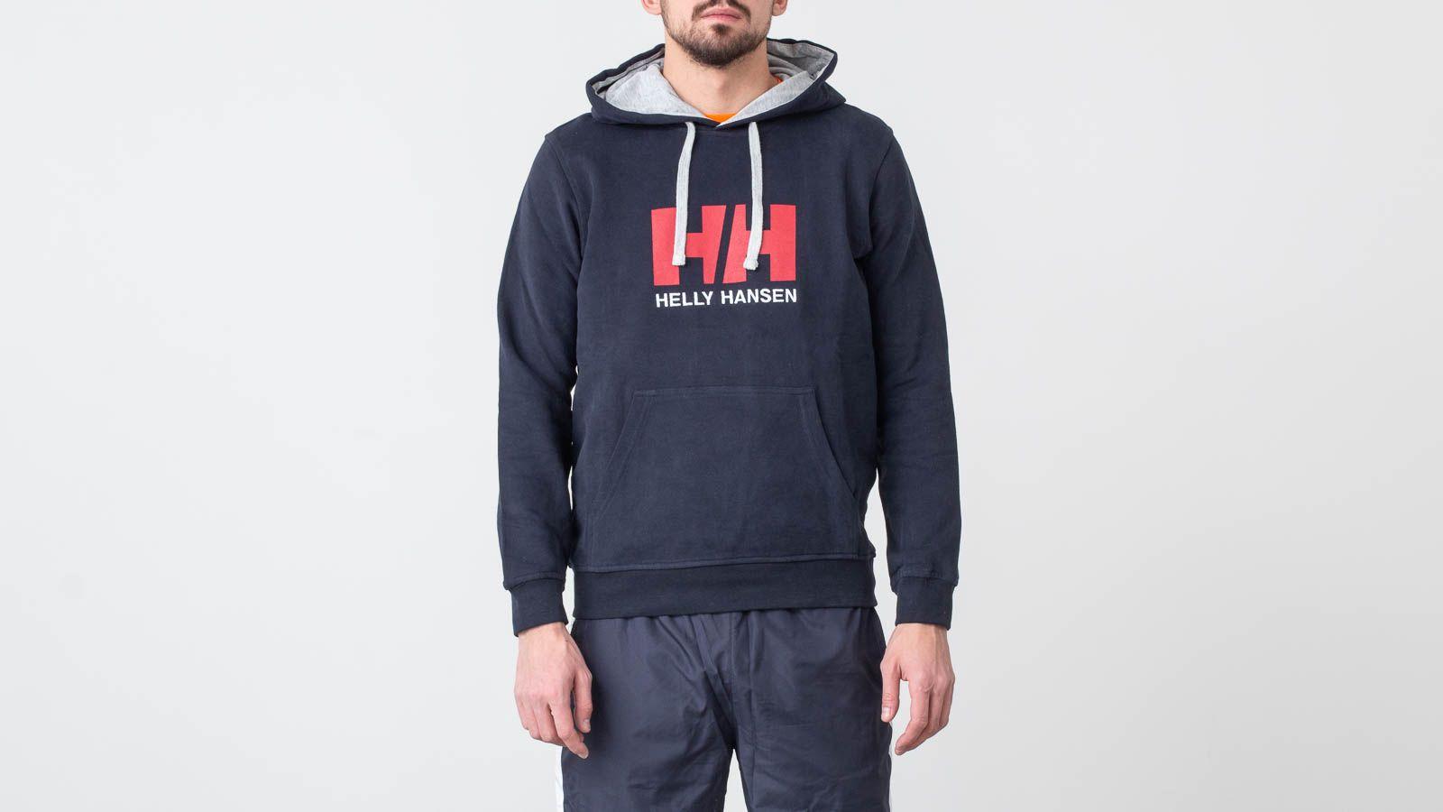 Sweatshirts Helly Hansen Logo Hoodie Navy