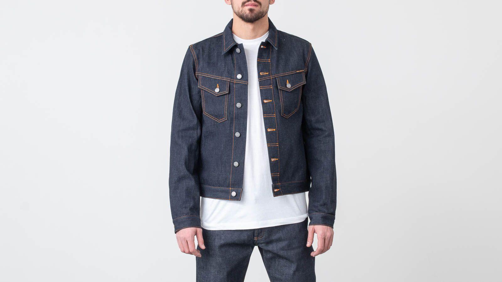 Nudie Jeans Kenny Dry Ecru Embo Jacket