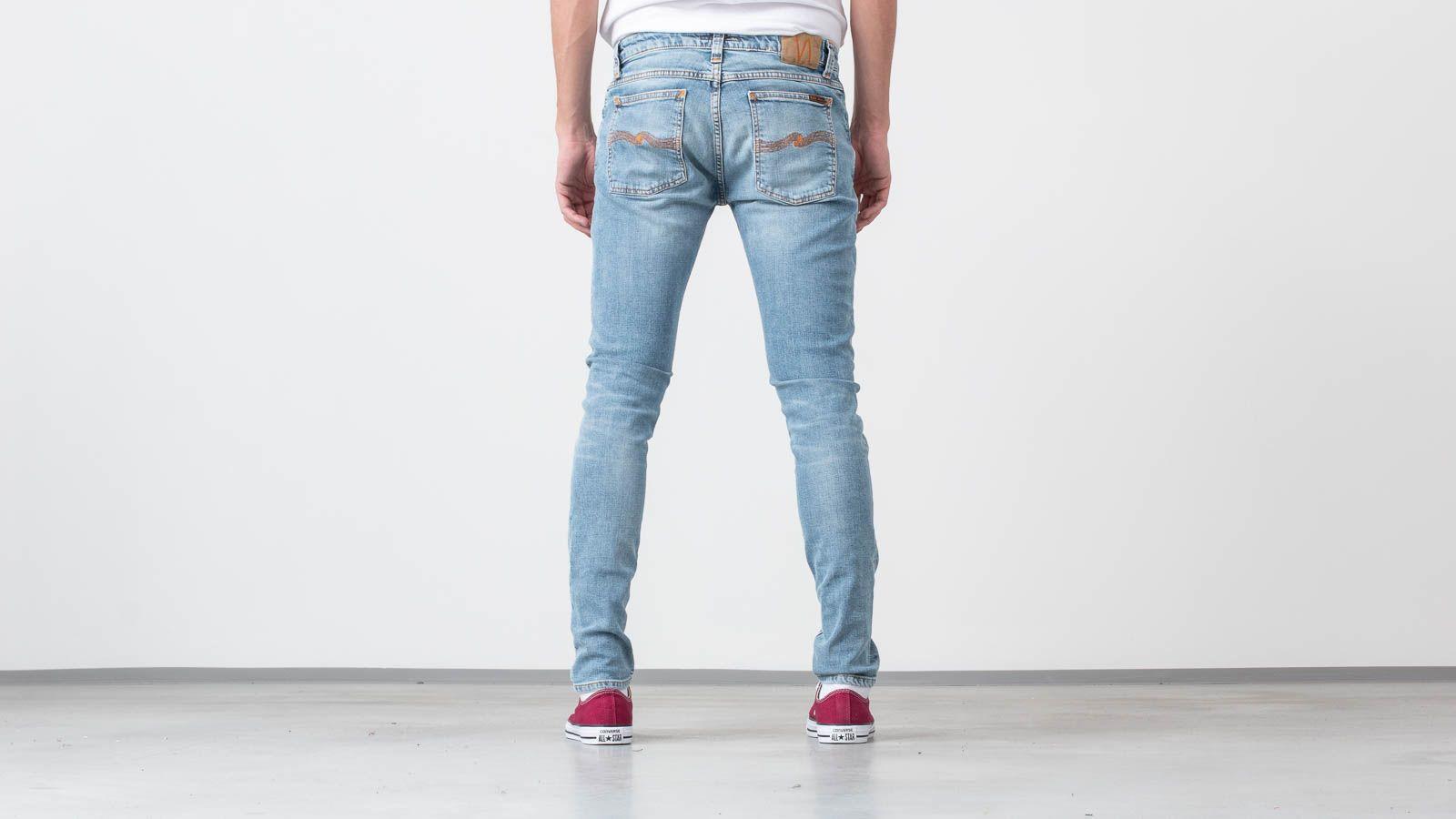 b80eaf8efe4a Nudie Jeans Skinny Lin Light Blue Power at a great price £114 buy at  Footshop