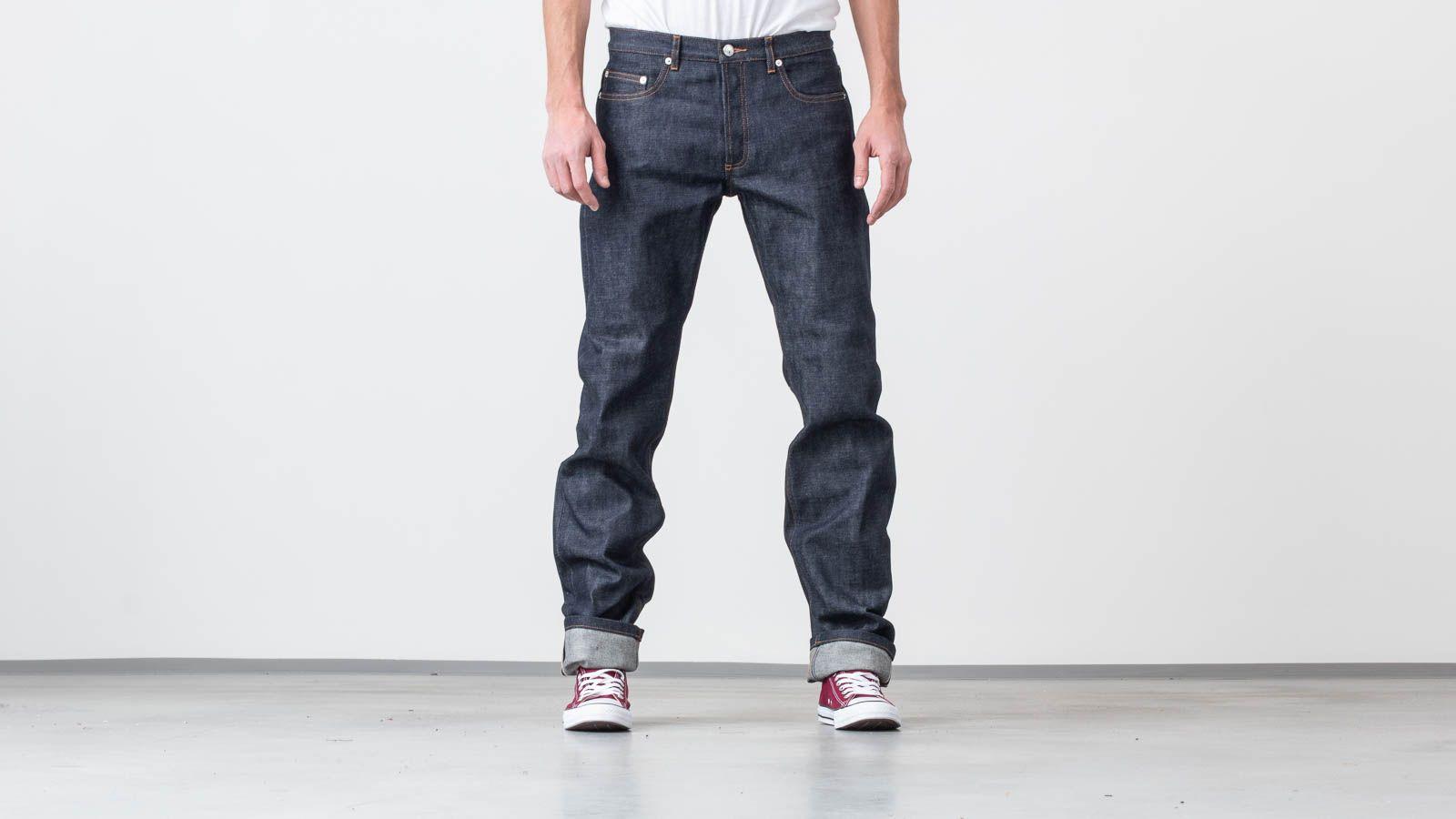 A.P.C New Standard Jeans Indigo au meilleur prix 154 € Achetez sur Footshop