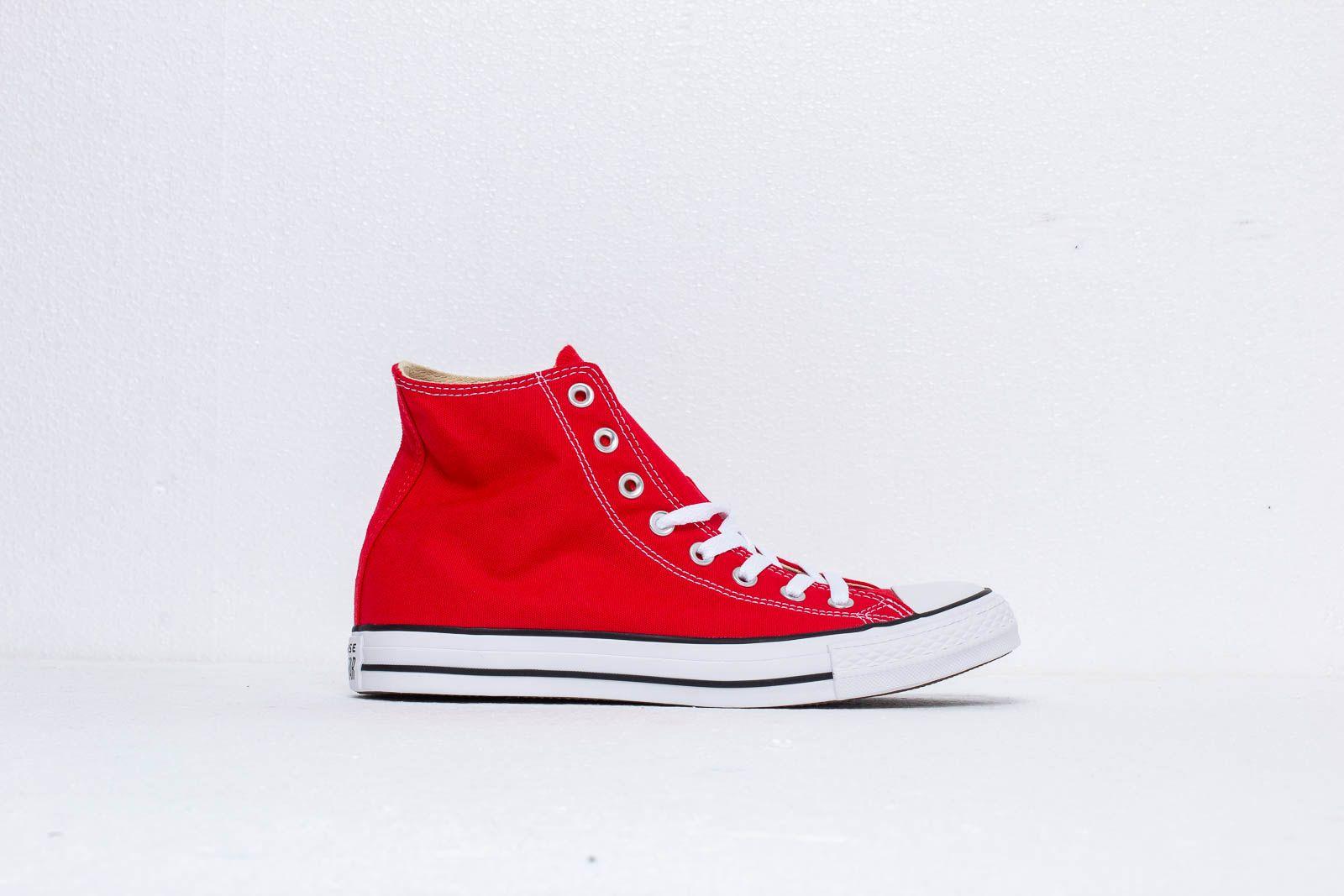 7f84a761930 Converse All Star Hi Red au meilleur prix 73 € Achetez sur Footshop