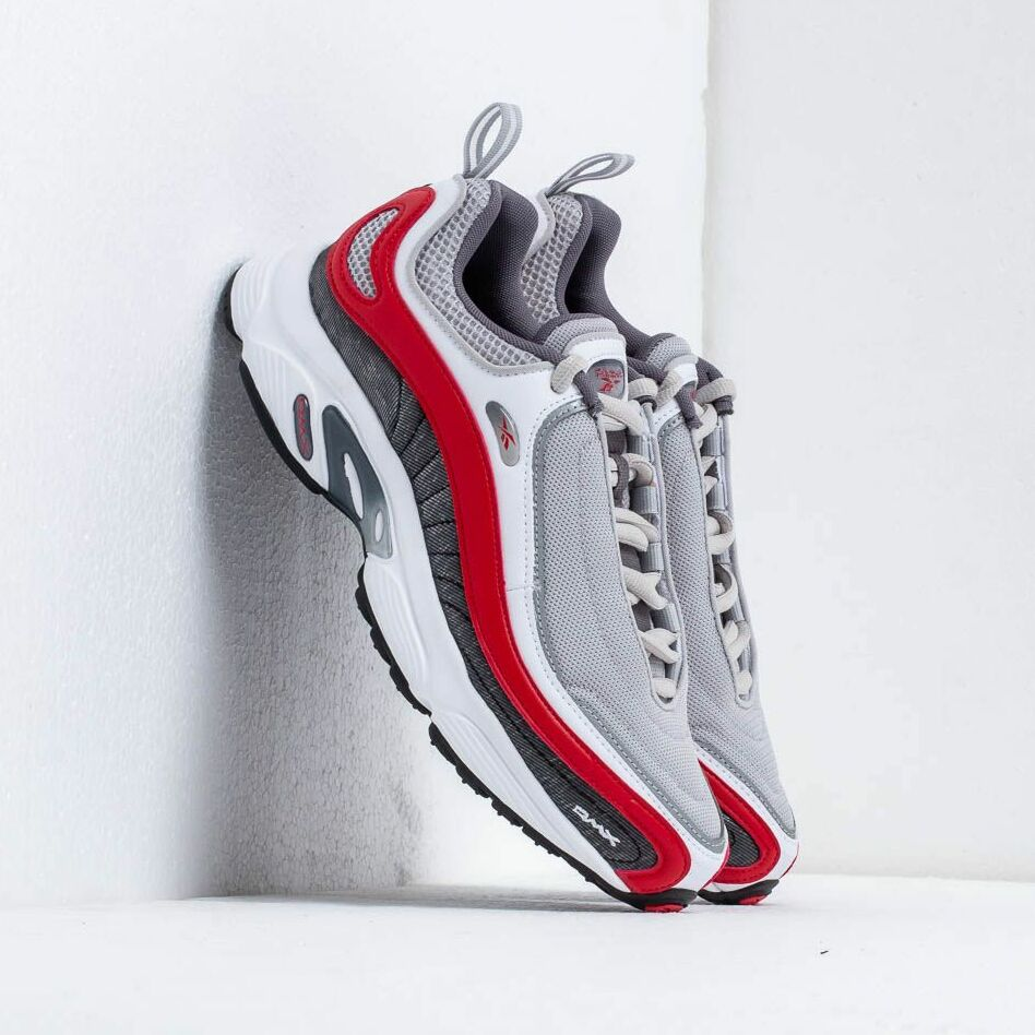 Reebok Daytona DMX Skull Grey/ Shark/ White/ Red