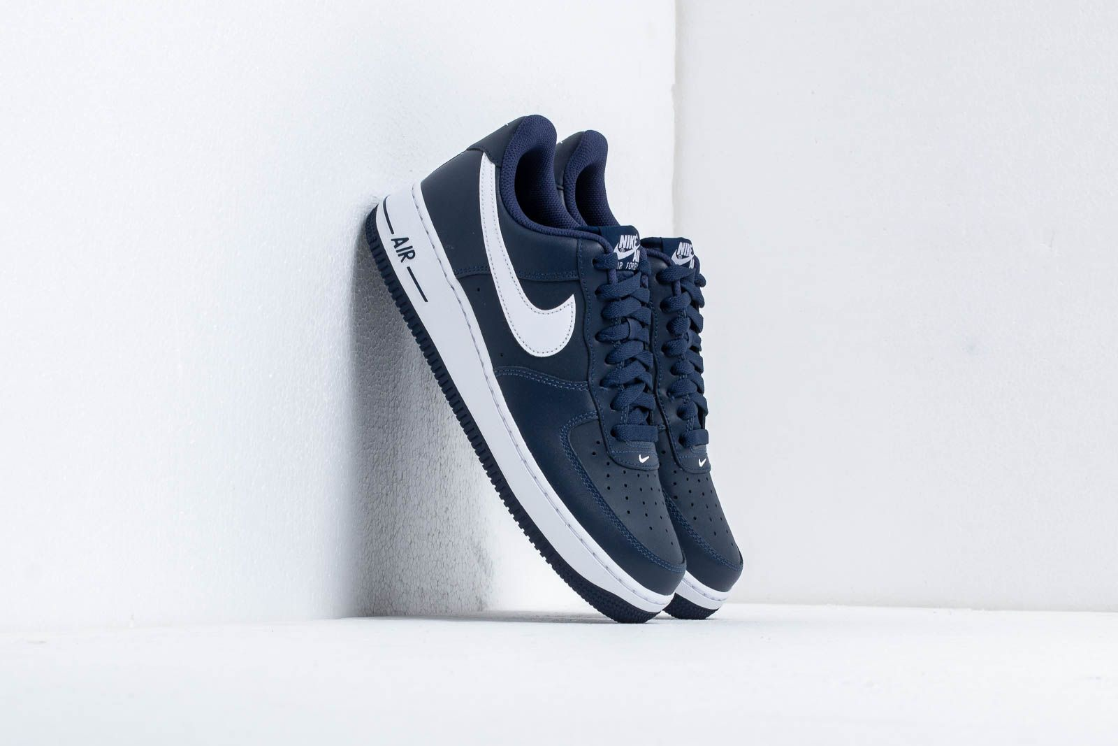 premium selection 11f57 7f8a9 Nike Air Force 1. Midnight Navy  White-Midnight Navy