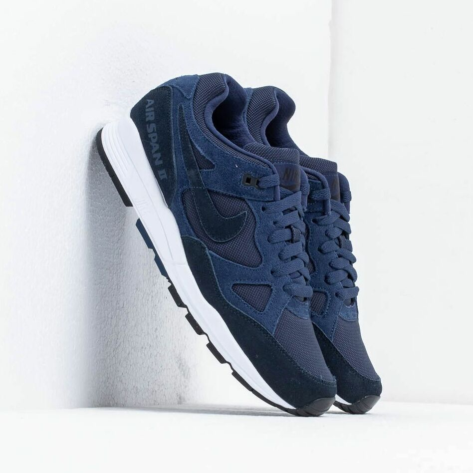 Nike Air Span Ii Se Sp19 Midnight Navy/ Dark Obsidian-Black-White EUR 43