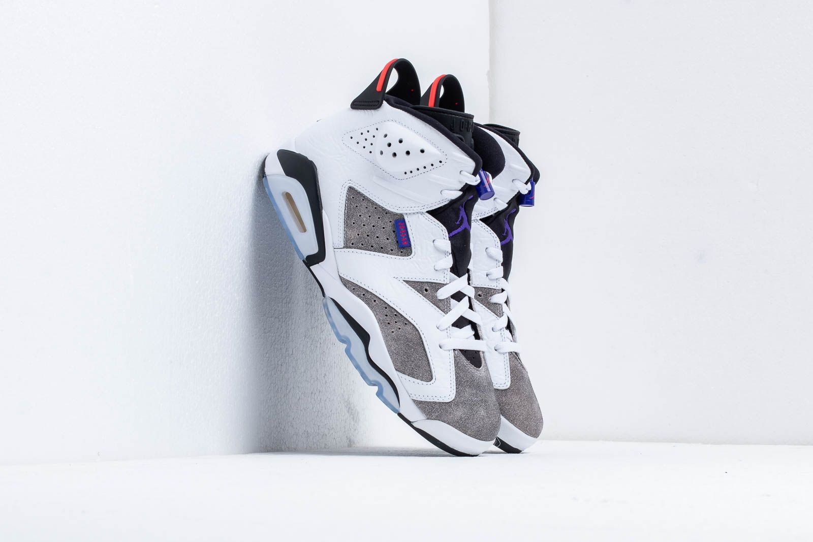 9d3dc31de06 Air Jordan 6 Retro Ltr White/ Dark Concord-Black-Infrared 23 | Footshop