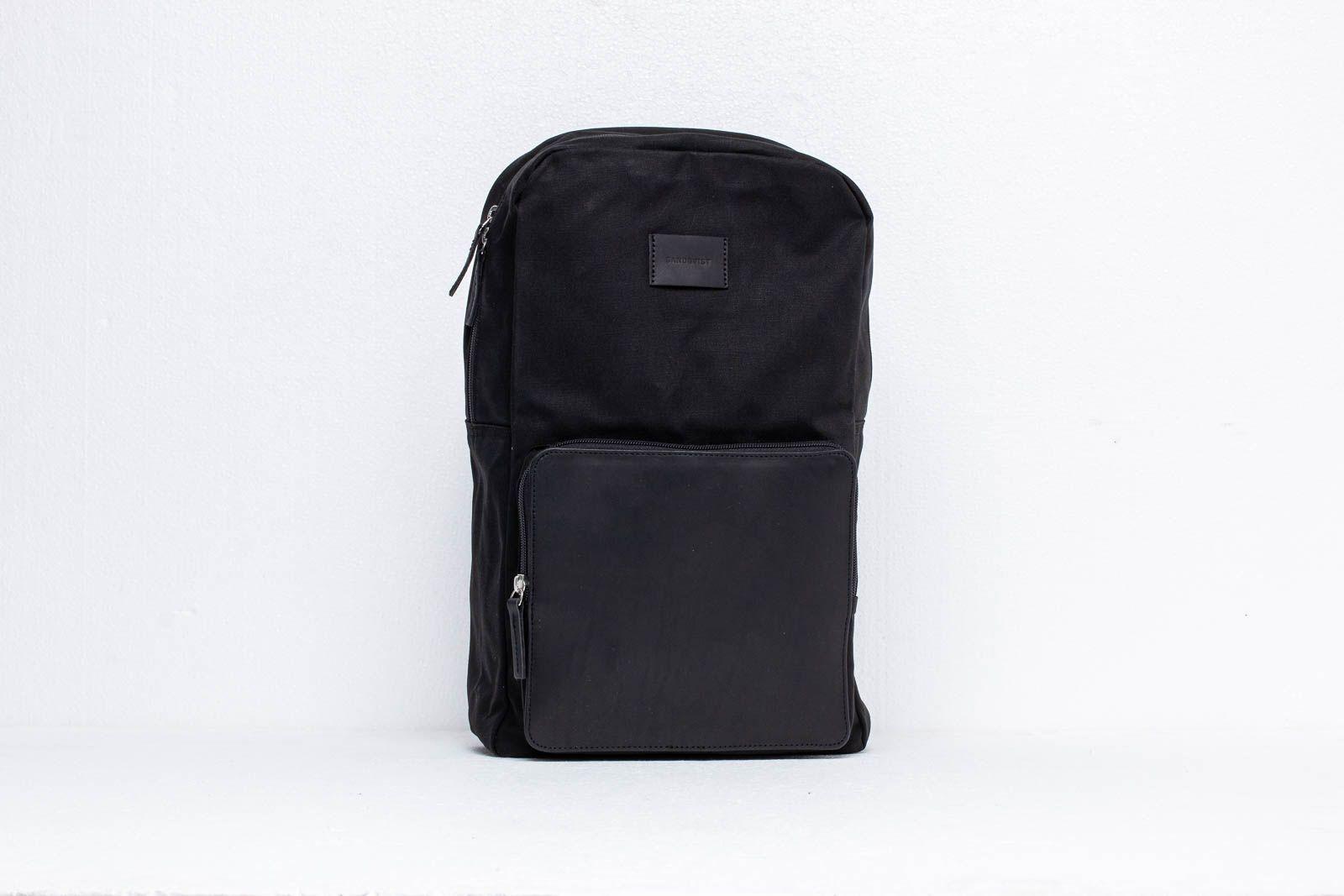 SANDQVIST Kim Grand Backpack Black za skvelú cenu 94 € kúpite na Footshop.sk