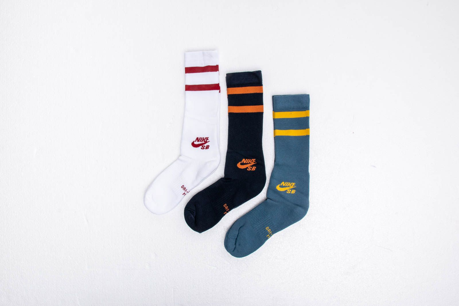 Nike SB 3-Pack Crew Socks Multi