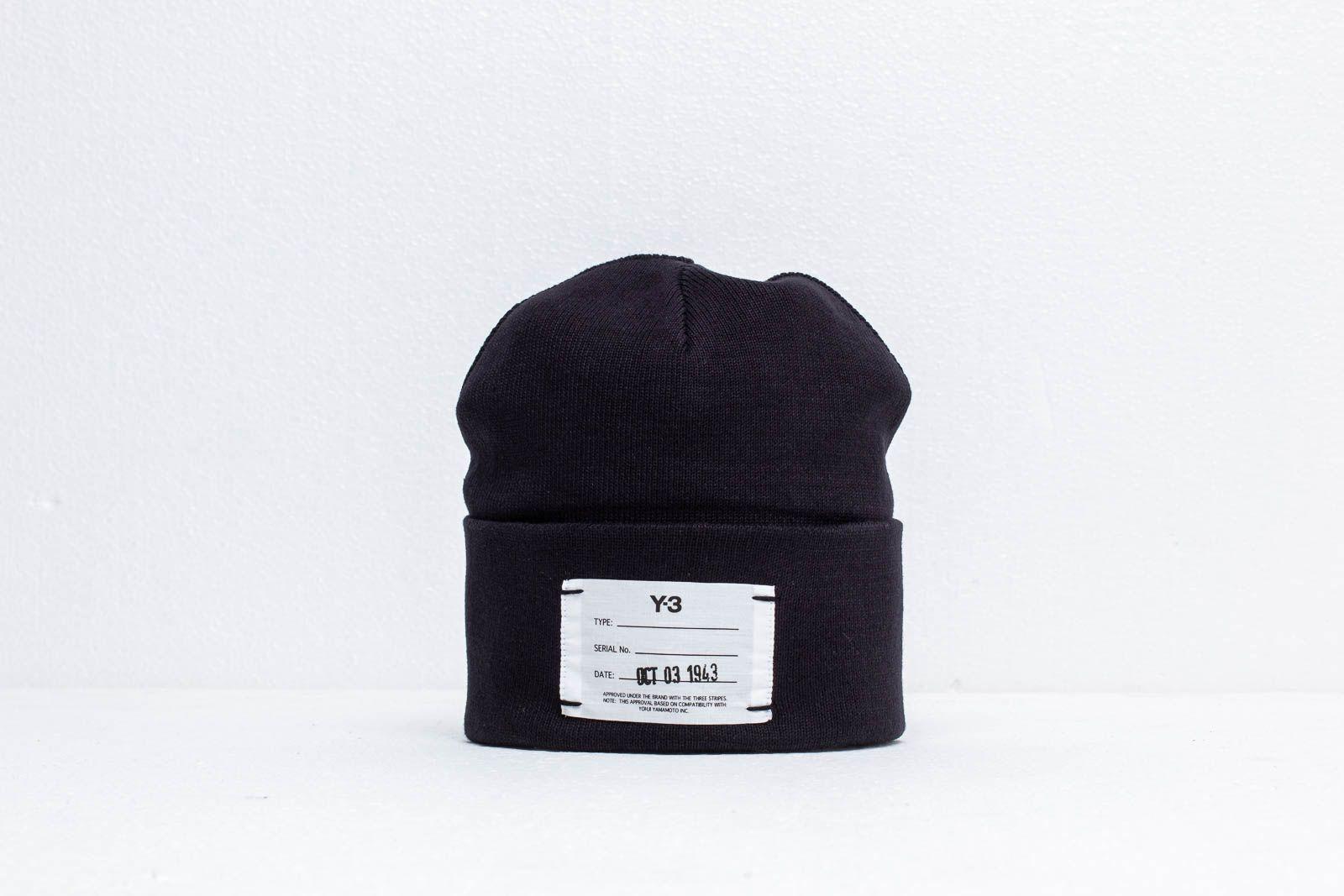 Y-3 Logo Beanie Black a muy buen precio 67 € comprar en Footshop