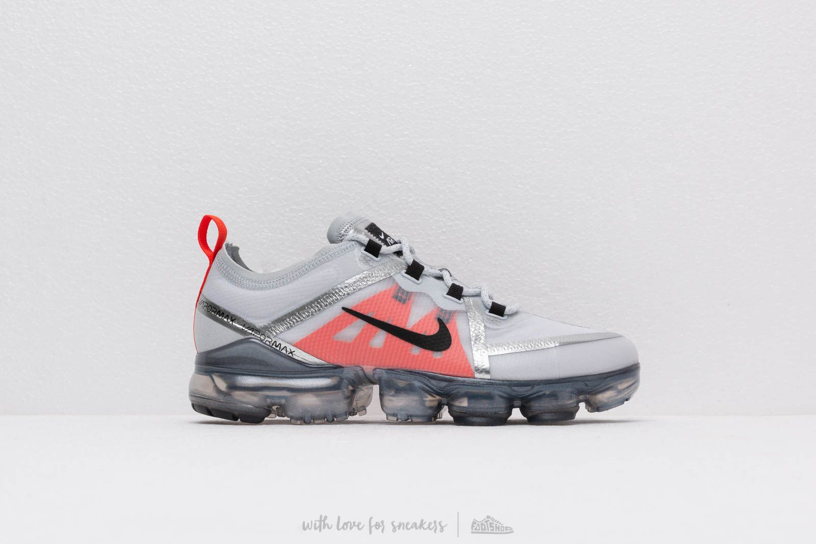 1735c0b427 Nike Air Vapormax 2019 (GS) Pure Platinum/ Black-White-Team Orange ...