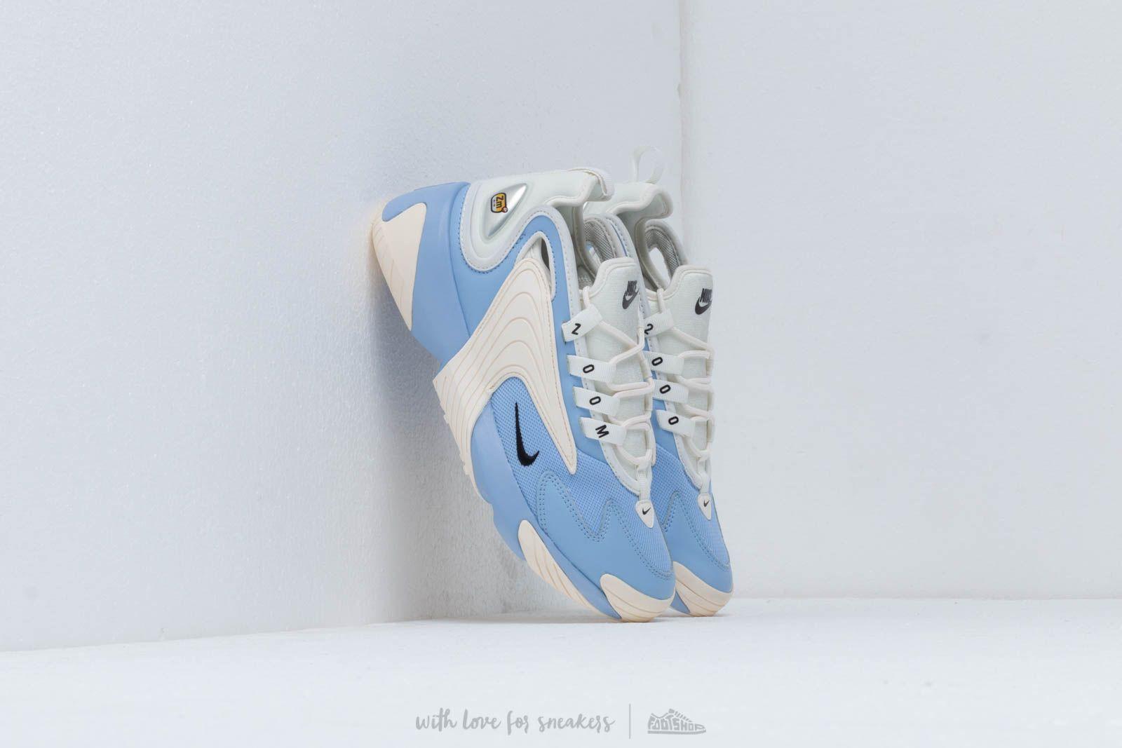 Nike Wmns Nike Zoom 2K Aluminum/ Black-Metallic Silver-Sail