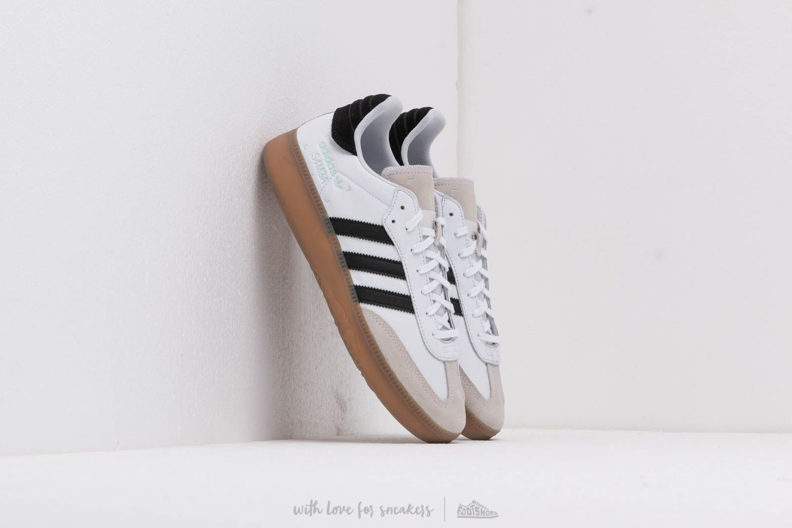 f675a333c4ff85 adidas Samba Rm Ftw White  Core Black  Clemin at a great price 125 €