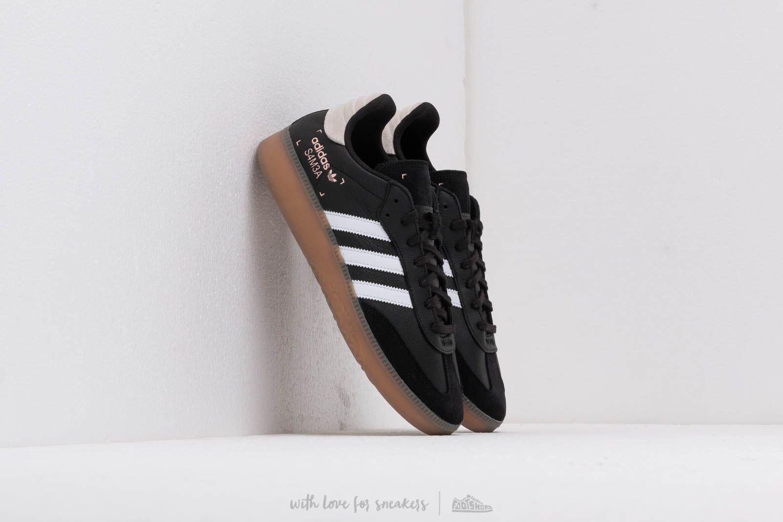 adidas Samba Rm Core Black Ftw White Cleora | Footshop
