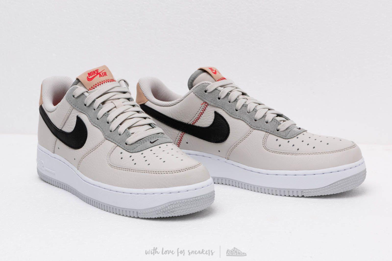 Nike Air Force 1 '07 Light Bone Black Mica Green | Footshop