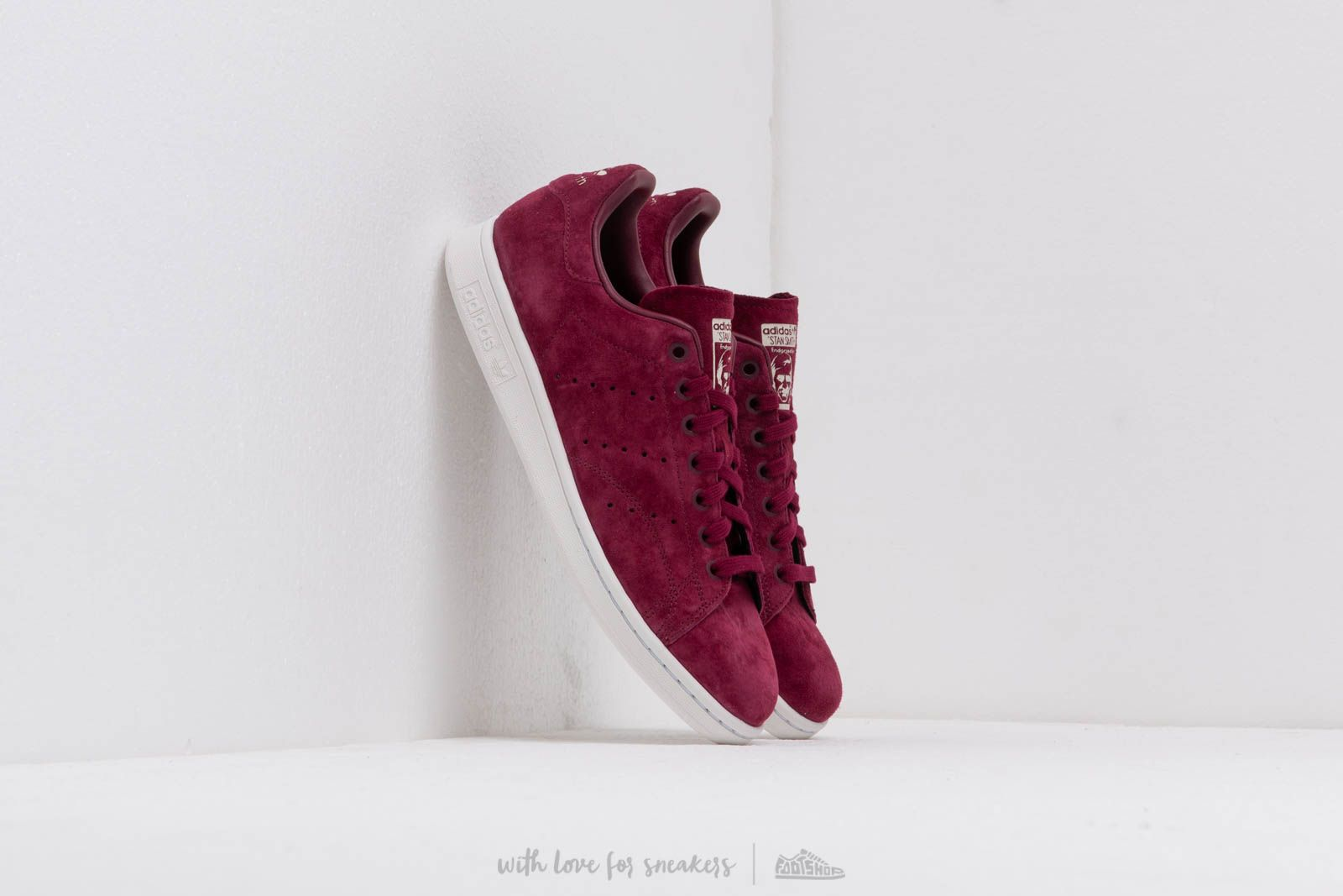 adidas Stan Smith Maroon/ Crystal White/ Cream Brown at a great price 92 € buy at Footshop