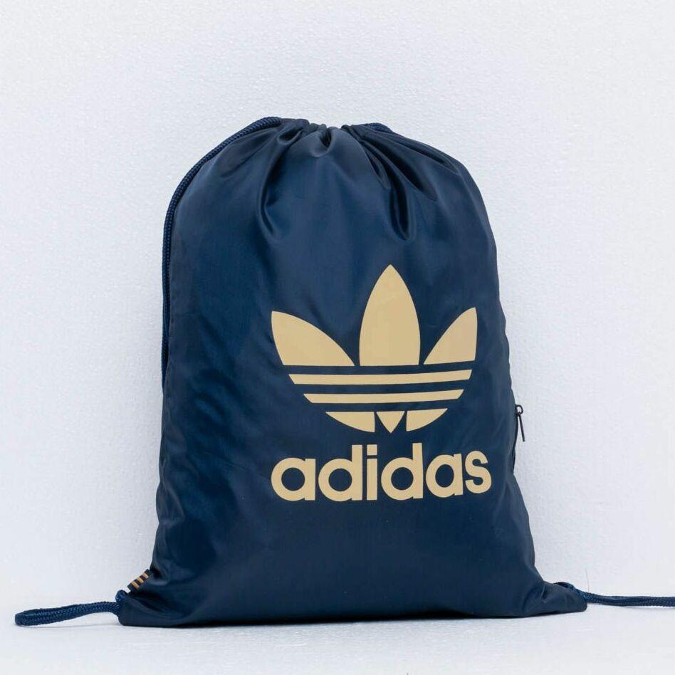 adidas Trefoil Gym Sack Collegiate Navy/ Raw Sand