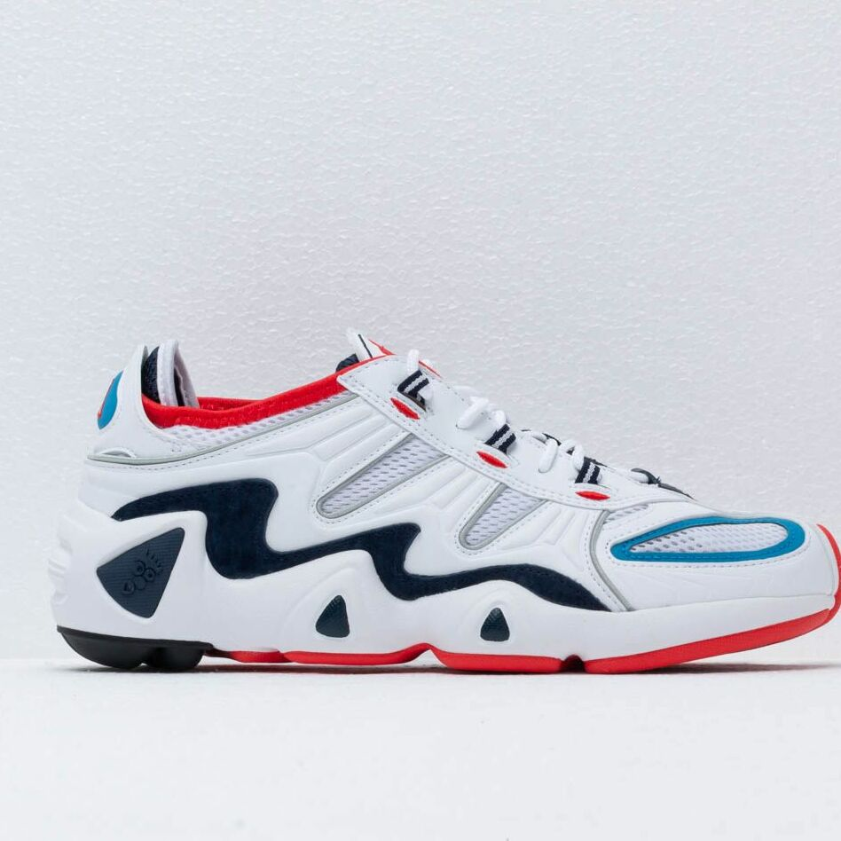 adidas Consortium FYW S-97 Ftwr White/ Supplier Color/ Red