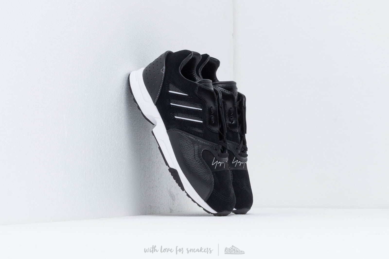 Мъжки кецове и обувки Y-3 ZX RUN Black/ Black/ Ftwr White