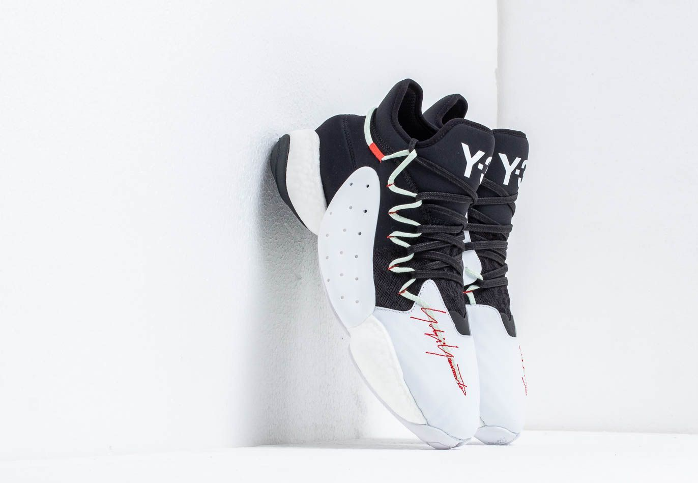 Y3 Byw Ball Core Black Ftw White Red