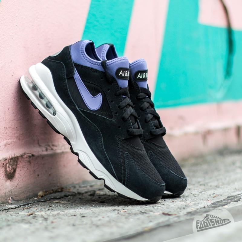 Nike Air max 93 Black Prsn Violet-Metallic Silver  f5112d3d7