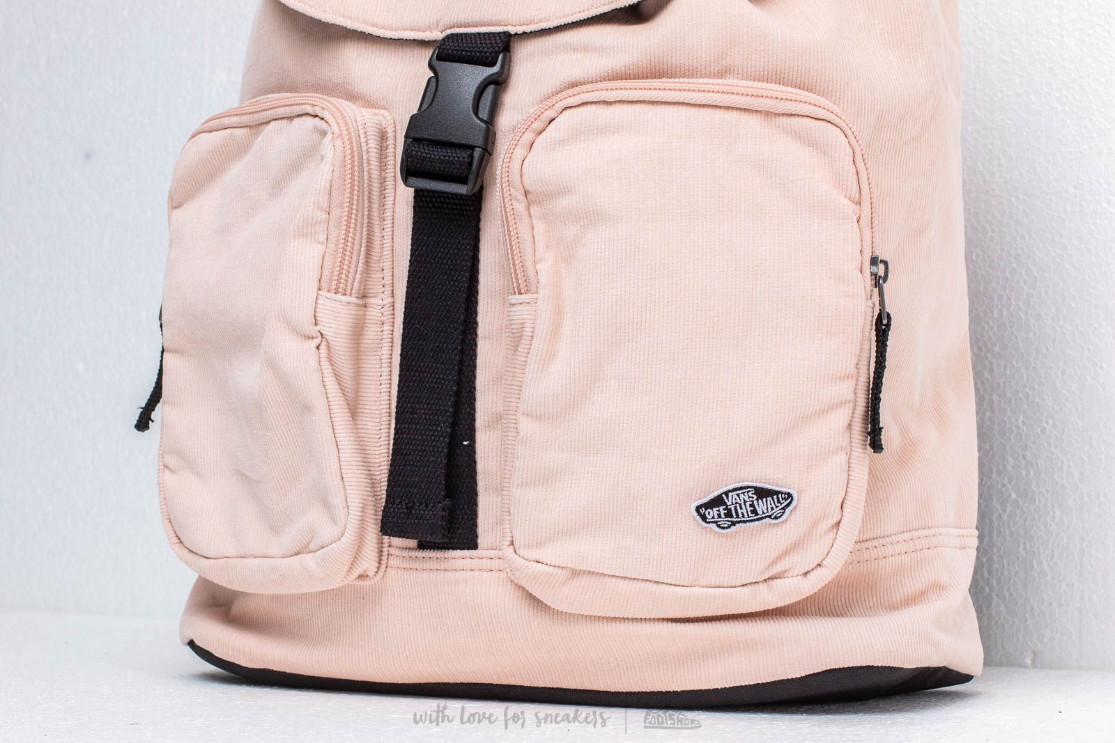 e0d1b92657a3e Vans Geomancer Cord Backpack Pink at a great price 54 € buy at Footshop