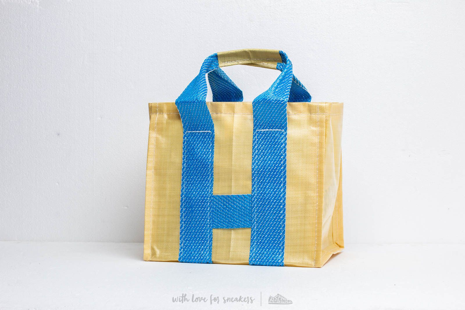 Comme des Garçons Shirt S27612 Bag Yellow/ Blue at a great price 117 € buy at Footshop