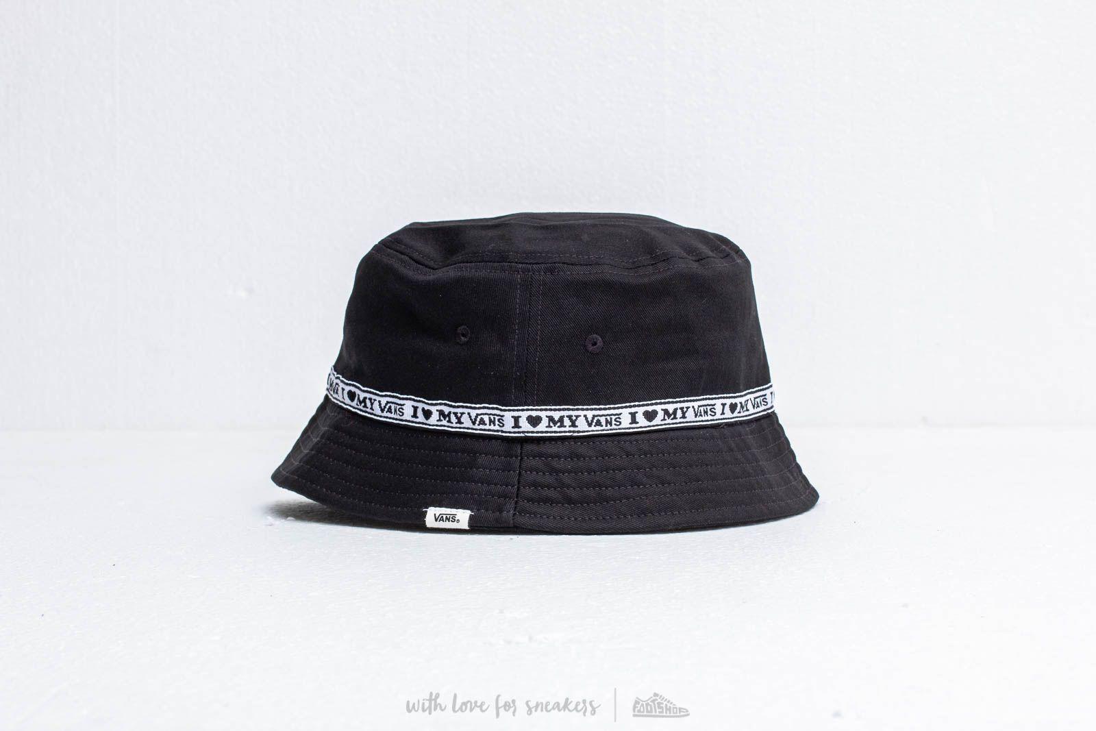 bc354cede1 Vans In A Daze Bucket Hat Black  Love