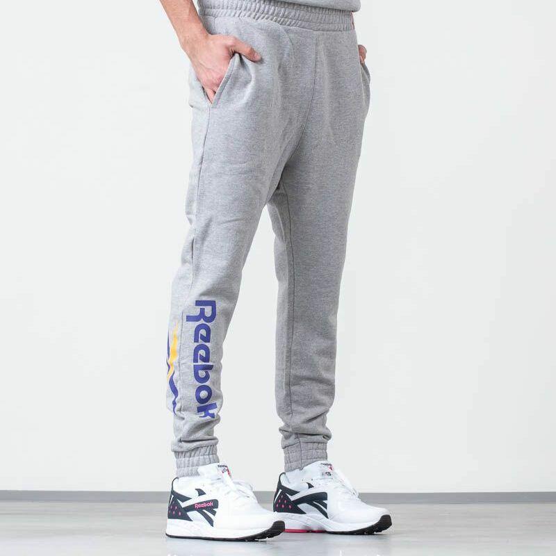 Reebok Classic Vector Jogger Pants Grey Heather, Gray