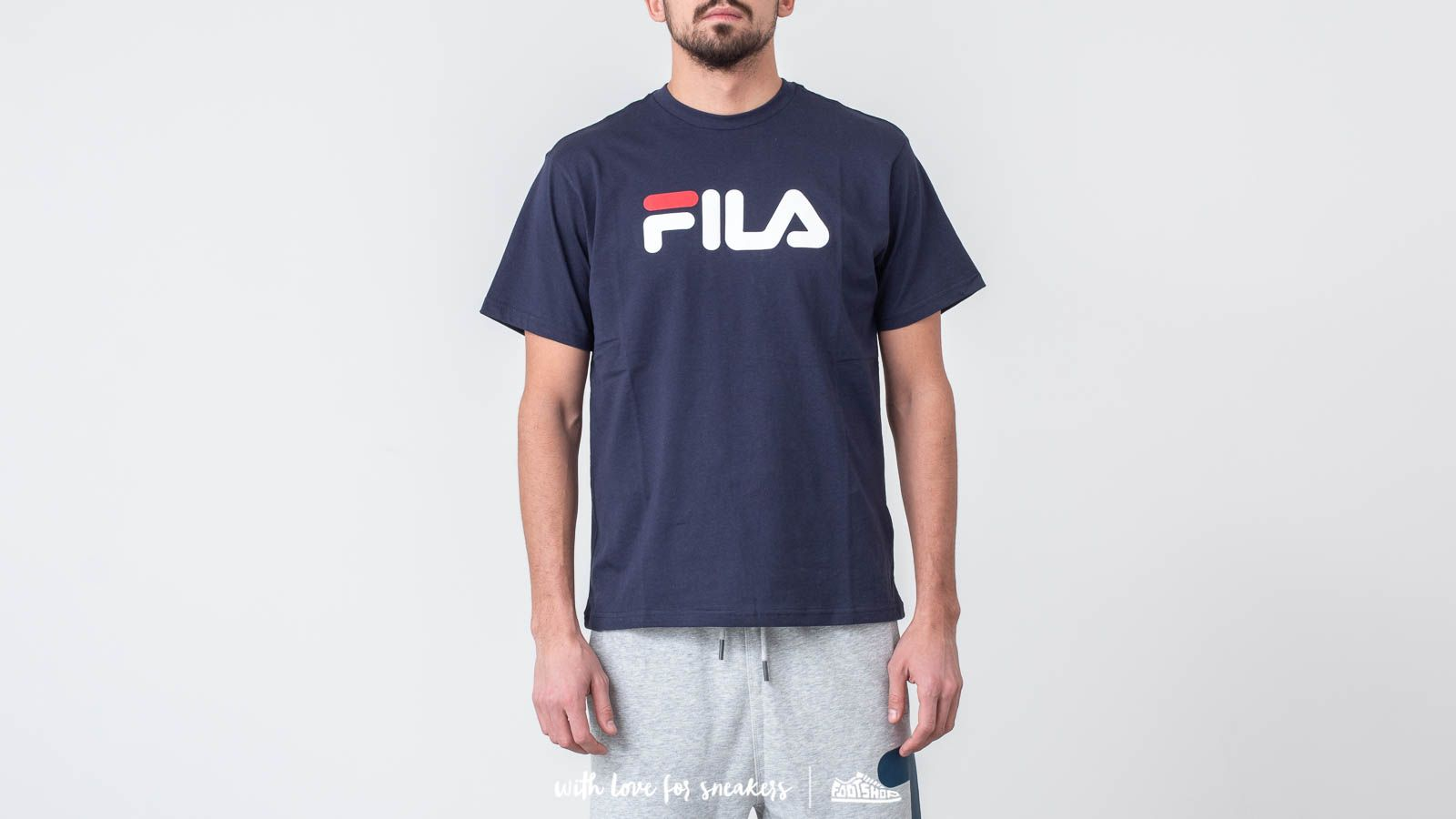 Camisetas FILA Classic Pure Tee Black Iris