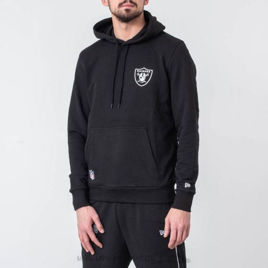 separation shoes e0c39 28c84 New Era NFL Team Logo Hoodie Oakland Raiders Black ...