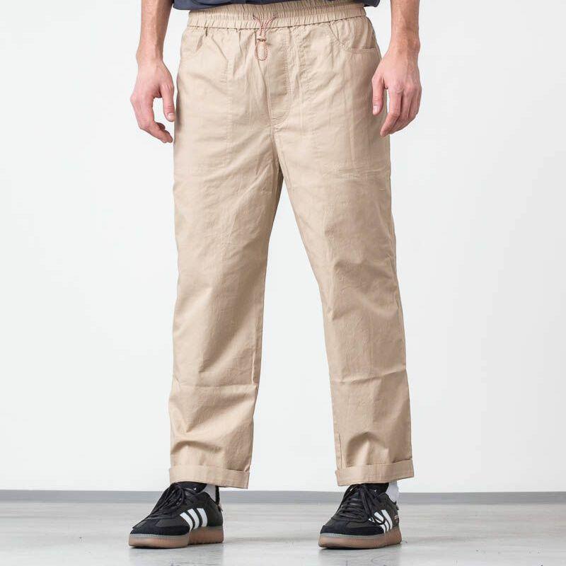 WOOD WOOD Buzz Trousers Light Khaki, Brown