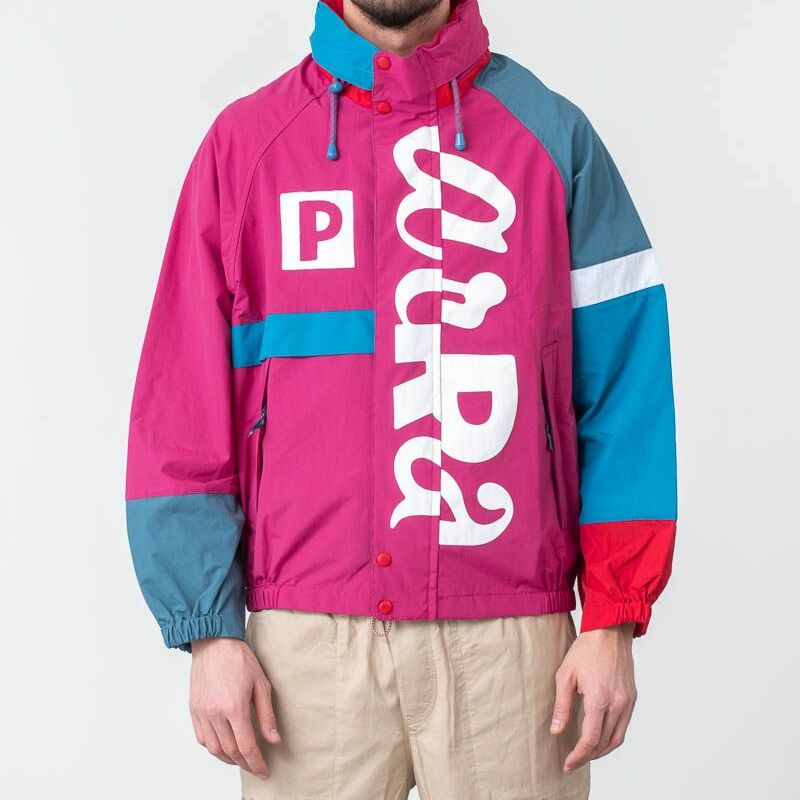 by Parra Piste Jacket Red, Multicolour
