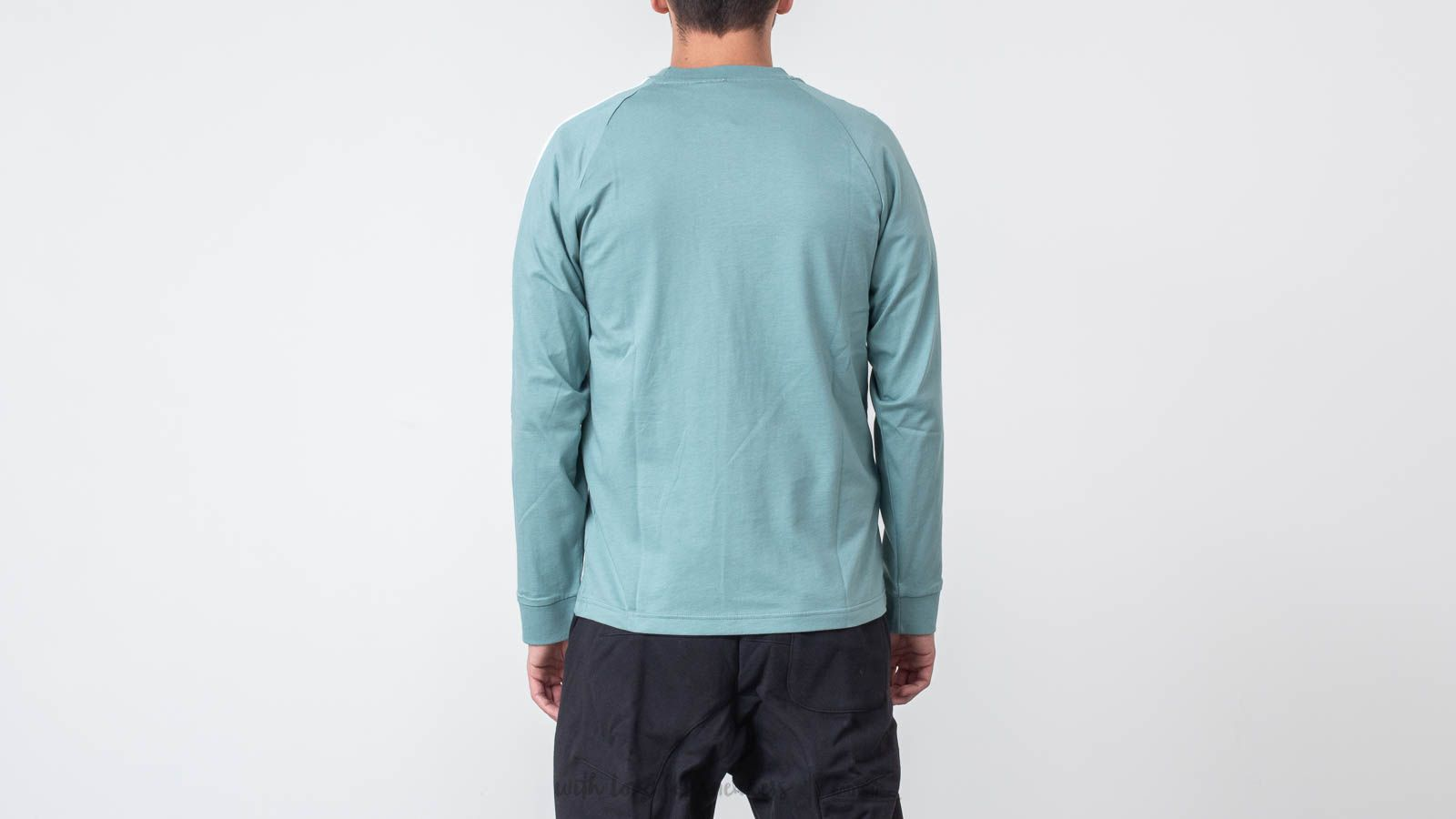 cbd8ef7c36 adidas 3-Stripes Longsleeves Tee Vapour Steel at a great price 36 € bestell  bei