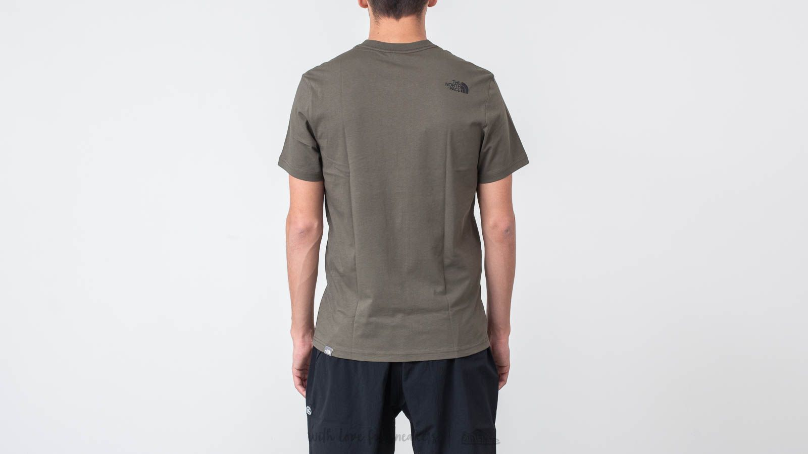 af11435da00530 The North Face Fine Tee New Taupe Green at a great price  34 buy at Footshop
