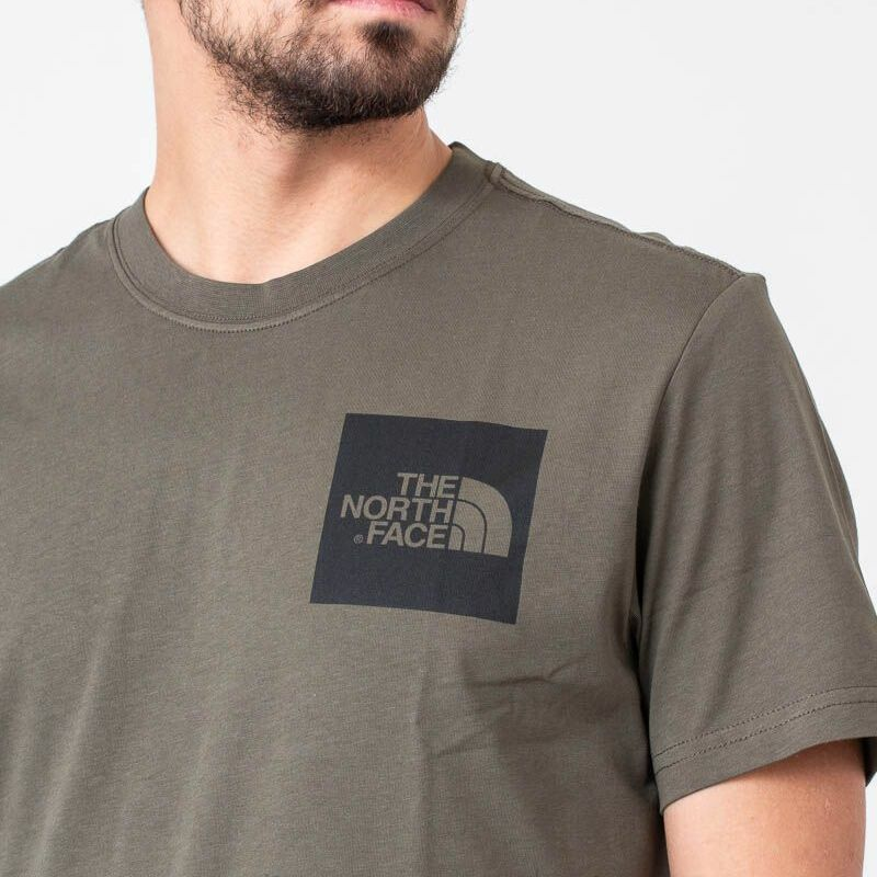 The North Face Fine Tee New Taupe Green