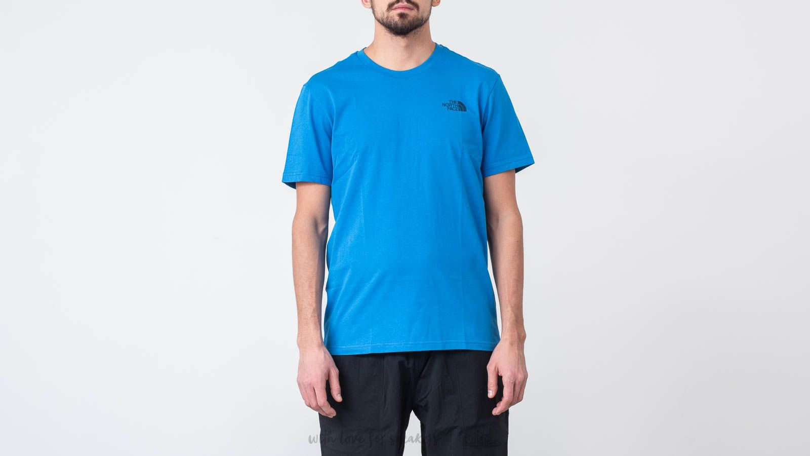 4729ab3b3a The North Face Simple Dome Tee Bomber Blue au meilleur prix 26 € Achetez  sur Footshop