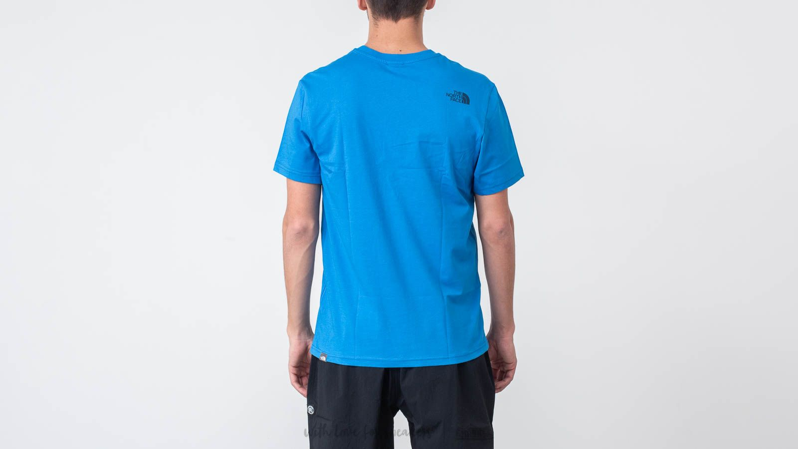 335553ac4 The North Face Simple Dome Tee Bomber Blue | Footshop