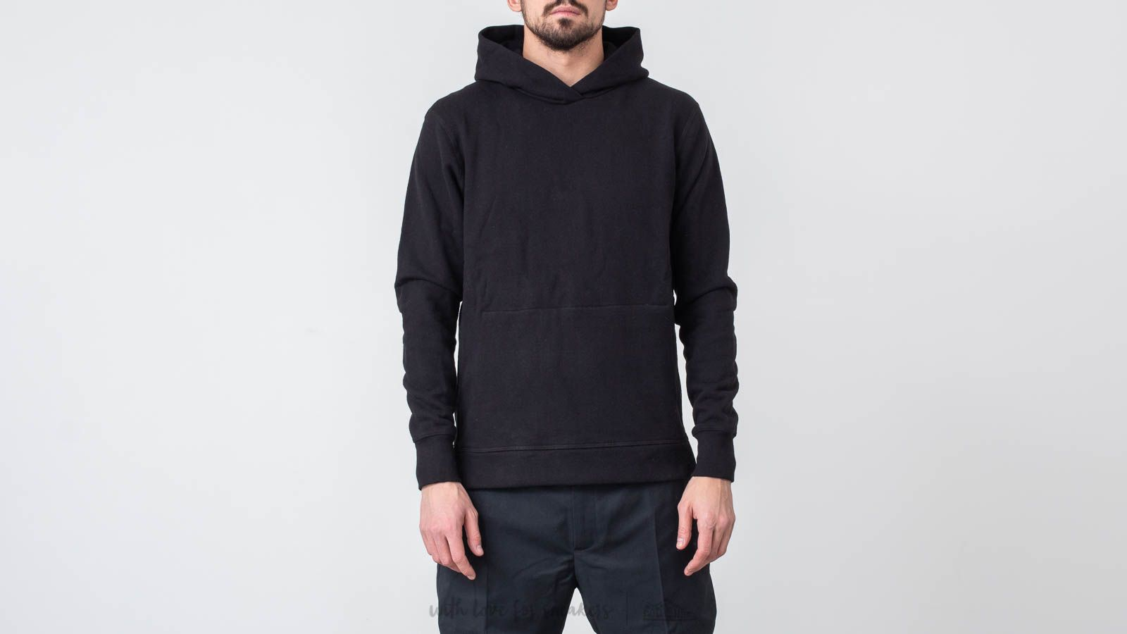 Sweatshirts John Elliott Hooded Villain Hoodie Black
