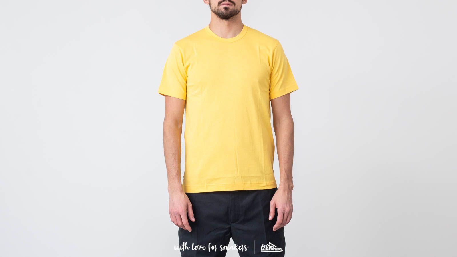 Comme des Garçons SHIRT BOYS S27112 Yellow