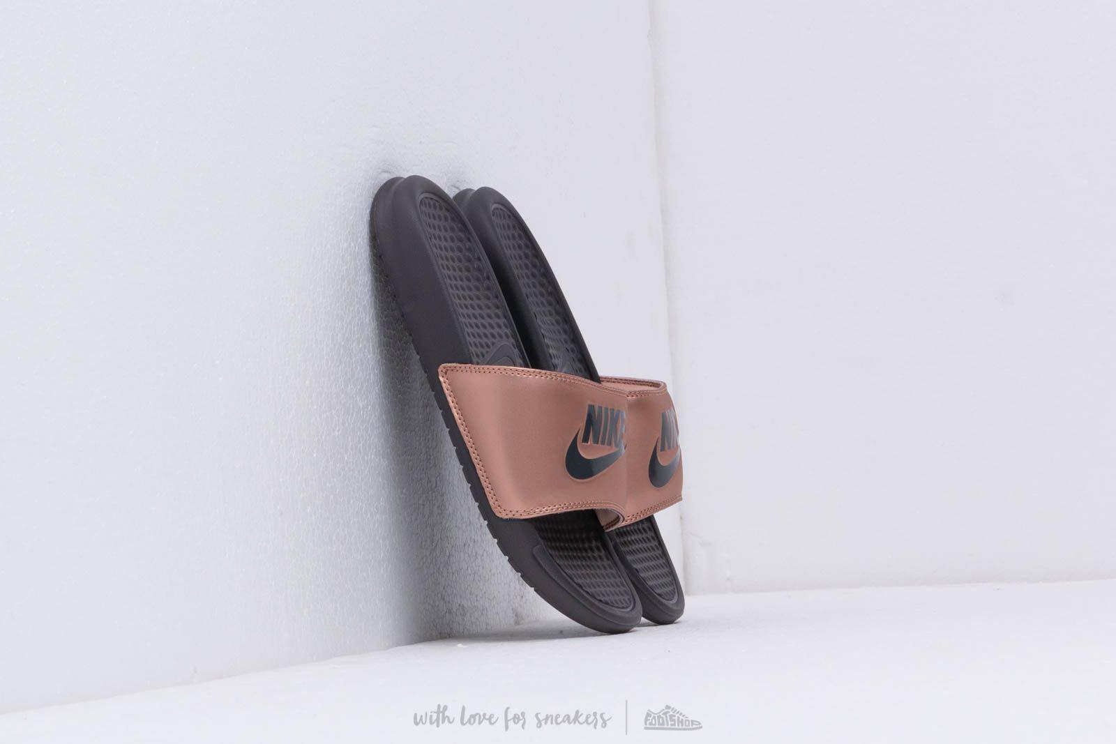 47047b5121 Nike Wmns Benassi Jdi Mtlc Red Bronze/ Thunder Grey | Footshop