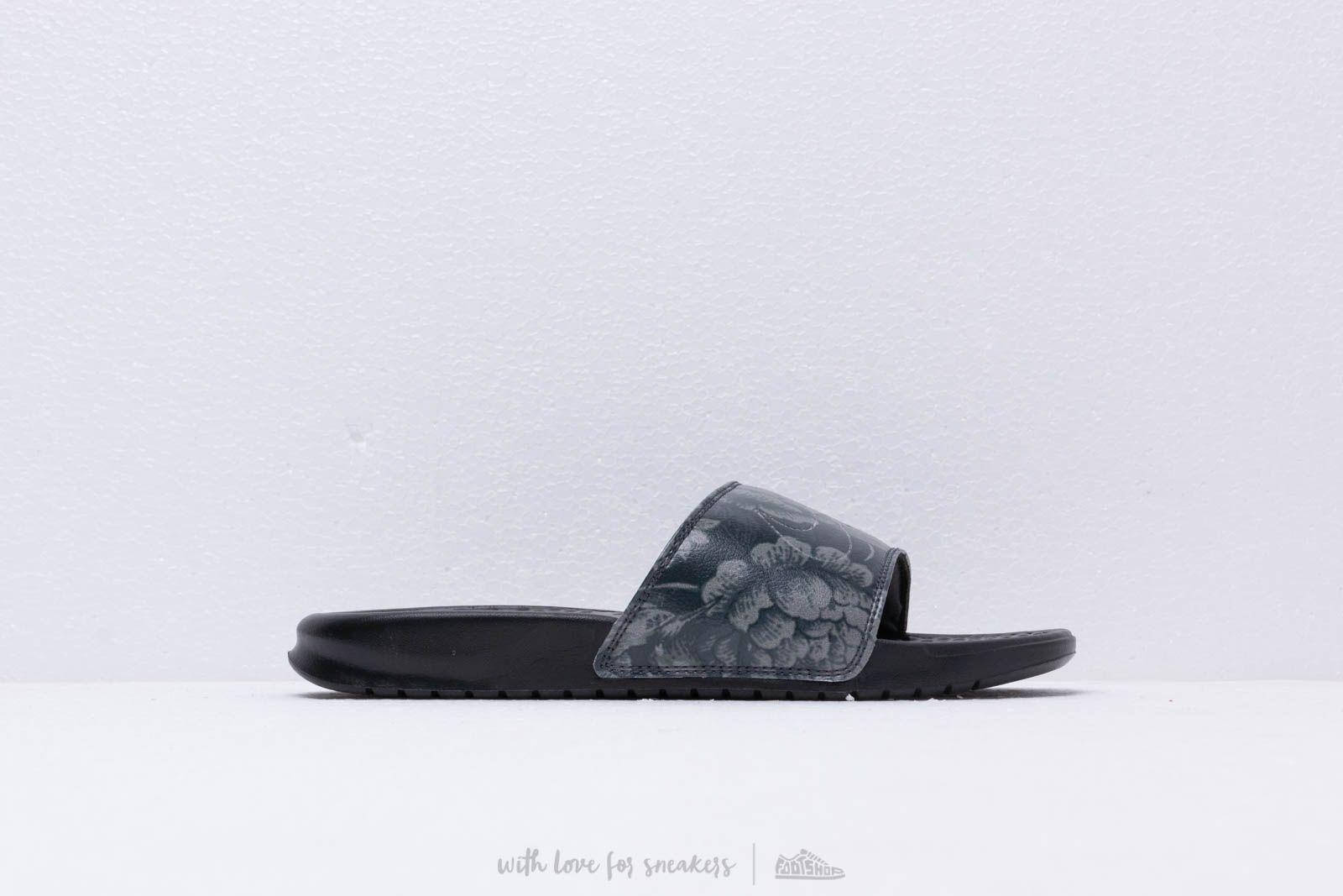 b7be4ecbe Nike Wmns Benassi Jdi Print Black  Black at a great price £26 buy at
