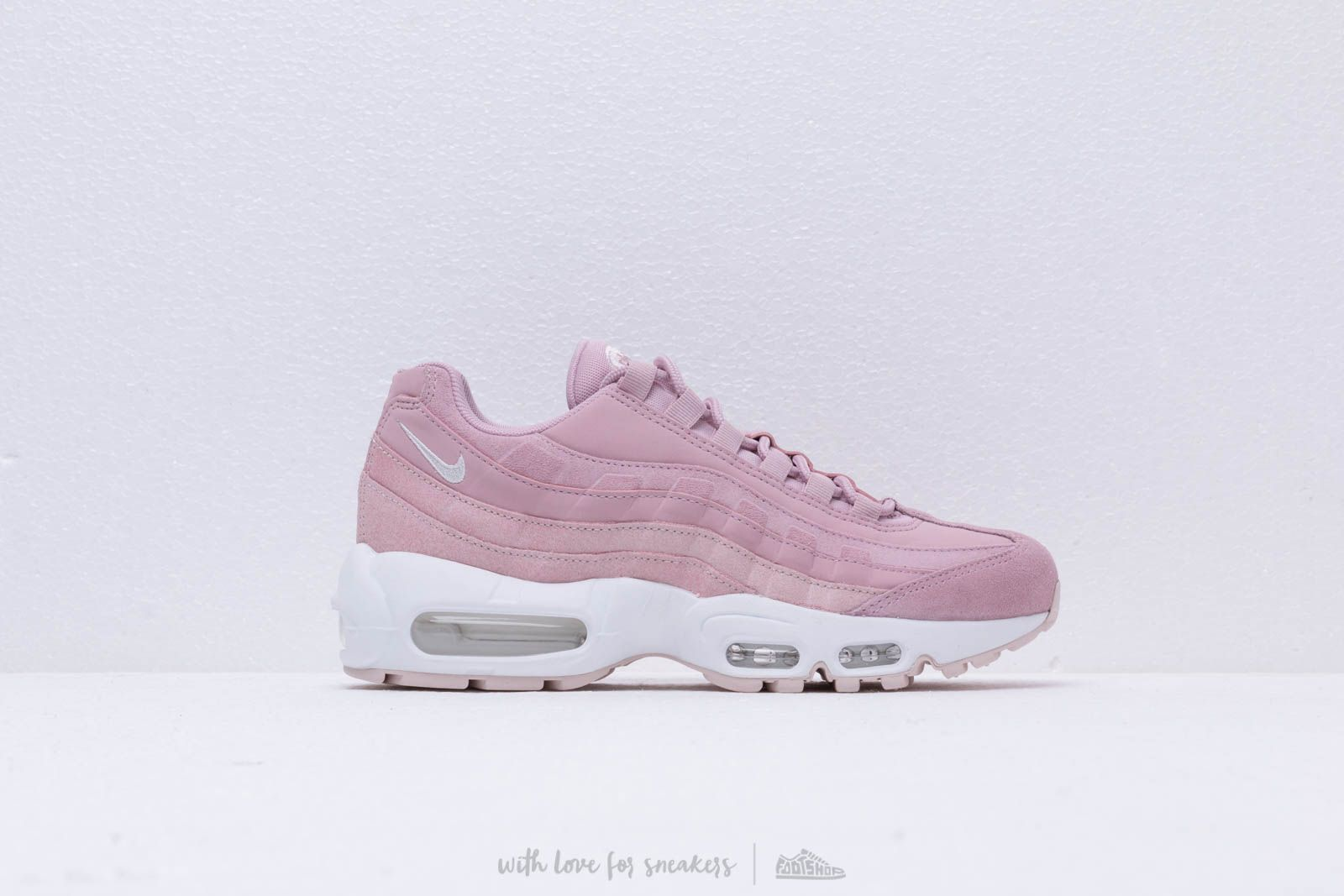 lowest price be52a ba9b4 Nike Wmns Air Max 95 Prm Plum Chalk  Barely Rose-Summit White at a
