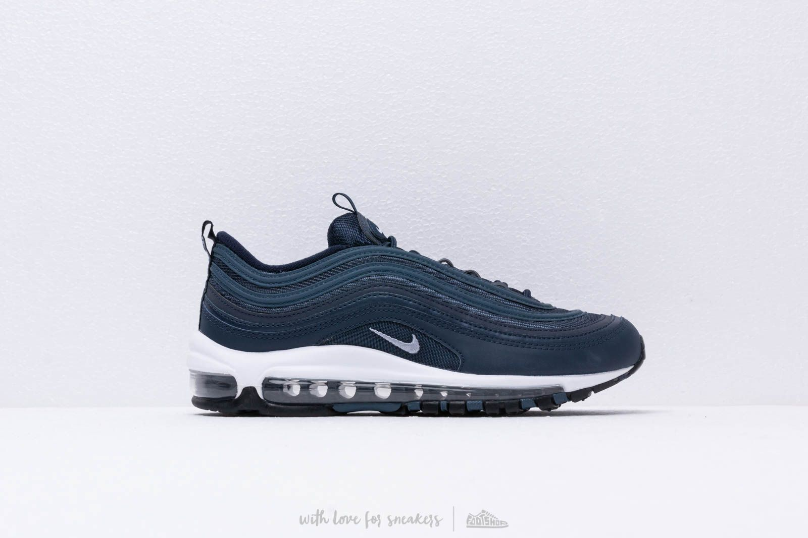 newest b2507 25a52 Nike Air Max 97 Essential Obsidian  Obsidian Mist-Monsoon Blue at a great  price