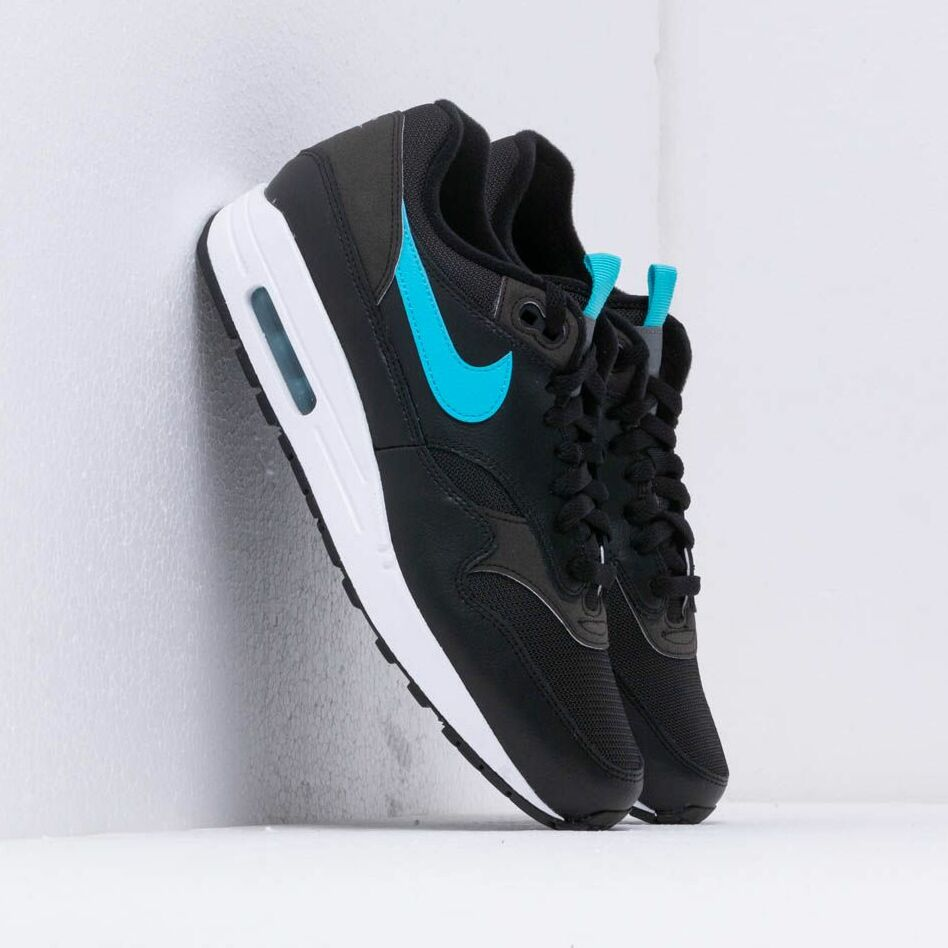 Nike Air Max 1 Se Black/ Blue Fury EUR 43